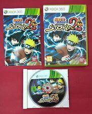 Naruto Shippuden: Ultimate Ninja Storm 2 - XBOX 360 - USADO - MUY BUEN ESTADO