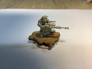 Warhammer 40k Vostroyan Imperial Guard Sniper OOP All Metal