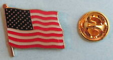 New listing (50) American Flag Lapel Or Hat Pins - Quality Jewelry Item - Free Shipping