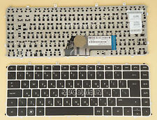 NEW for HP Envy 4-1000 6-1000 6-1100ej Keyboard SILVER NO backlit Hebrew Israel