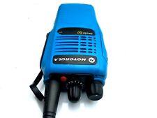 1 X MOTOROLA GP340 UHF ATEX BLUE EX I.S PROFESSIONAL WALKIE TALKIE RADIO EX HIRE
