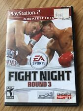 Fight Night: Round 3 (Sony PlayStation 2, 2006) PS2 Cib Game H1