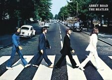 THE BEATLES ABBEY ROAD RD CROSSING GIANT POSTER (100x140cm) LENNON MCCARTNEY PIC
