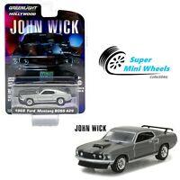 Greenlight 1:64 Hollywood - John Wick - 1969 Ford Mustang Boss 429