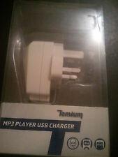 Temium usb chargeur (10 unités) pour lecteur MP3 iPhone & iPod Mains mur UK Plug