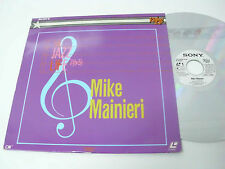 MIKE MAINIERI Live - Laser Disc - 1982 US LD - video LP  - vibraphone