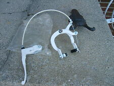 """""""NOS"""" *LEE CHI* FRONT BRAKE & CALIPER W/15 INCH CABLE BOTH WHITE SHARP"""