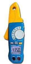 PeakTech 4350 Pro Pliers Power meter RMS Leakage current Power Gauge