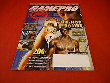 Gamepro Magazine #203 August 2005 Hip-Hop Games 50 Cent Bulletproof Cover