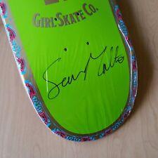 Autographed Sean Malto Habanos Girl Skateboard Deck 8.125in The Berrics