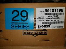 Sno-Way Part #99101198 Vehicle Mounting Kit Ford F250 & F555 2008+