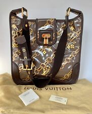 NEW Authentic LOUIS VUITTON Monogram Charms Musette Bag RARE 2006 Spring Jacobs