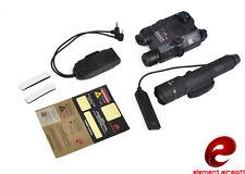 Element PEQ-15 LA-5 Green Laser WMX-200 Illumination Combat Kit (Black) EX424-BK