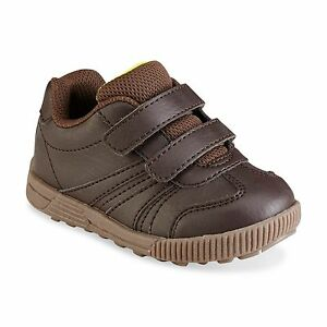 New Boys Toddler Route 66 Chase Casual Shoe Style 52306 Brown 76A lr