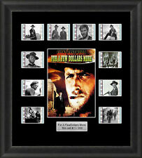 Clint Eastwood for a Few Dollars More Framed 35mm Film Cell Memorabilia Filmcell