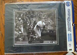 New York Yankees Mickey Mantle 500 Home Run 8x10 photo at Yankee Stadium STEINER
