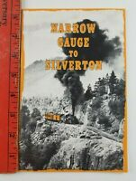 Vintage 1964 Narrow Gauge to Silverton Colorado Railroad Booklet (36 pages)
