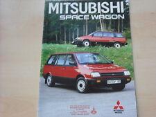 52714) Mitsubishi Space Wagon Prospekt 09/1988