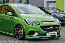 Spoilerschwert Frontspoilerlippe Cuplippe aus ABS Opel Corsa E OPC mit ABE
