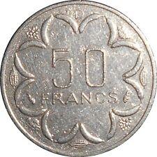 Central African States BEAC Gabon 50 Francs 1985 D KM#11 (G-15)
