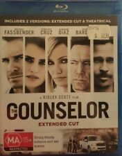 *New & Sealed* The Counselor - Extended Cut Blu Ray - Region B AUS