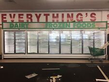 Reach in Zero Zone cooler & freezer