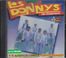 Los Donnys De Guerero 15 Autenticos Corridos Guerrenses CD New Nuevo Sealed