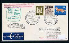 96289) LH FF Düsseldorf- Lissabon 6.4.68, Brief ab Berlin