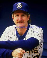 Robin Yount 1974-93 Milwaukee Brewers HOF'er 1999 Color 8x10 A