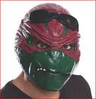 Teenage Mutant Ninja Turtles RAPHAEL 3/4 MASK Halloween Costume Adult 🌟NEW🌟
