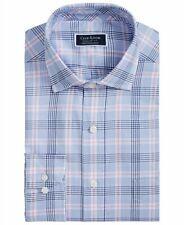 Club Room Men's Classic-Fit Glenplaid Shirt, Pink/Blue L $55