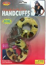 Leopard Fluffy Handcuffs (toy) Hand Cuffs