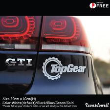 Top Gear Funny Car Sticker Reflective Vinyl Window Decal Truck Laptop