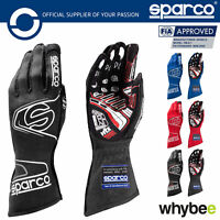 001309 Sparco Arrow EVO RG-7 Race Motorsport Gloves Protection FIA Approved