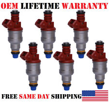 Set/6 Re-man OEM Bosch Fuel Injectors -92-93- GMC Typhoon 4.3L V6 {P#0280150756}