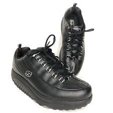 Sketchers Shape Ups Womens 9.5 11801 NWOB Walking Toning Shoes  Black Leather