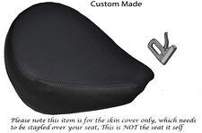 CARBON FIBRE VINYL CUSTOM FITS YAMAHA XVS 650 CLASSIC V STAR FRONT SEAT COVER