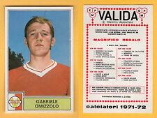 FIGURINA CALCIATORI PANINI 1971/72 - NUOVA/NEW  - OMIZZOLO - VARESE