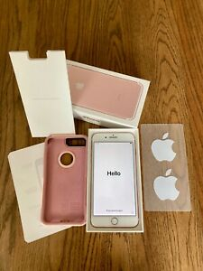 Apple iPhone 7 Plus - 32GB - Rose Gold (Unlocked) A1661 with Box and Otter Box