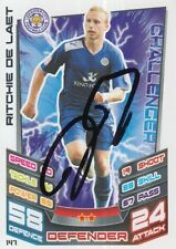 RITCHIE DE LAET HAND SIGNED LEICESTER CITY 12/13 MATCH ATTAX CARD 2012/2013.