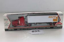 Model Power HO 1:87 Die-cast truck and Trailer CN Route-Leaf 17011 (8716)