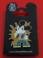 Walt Disney Theme Park Enamel Pin Badge Mouse Character with Headphones