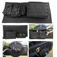 3pcs/set Tailgate Storage Bag Case Cover Tool Organizer For Jeep Wrangler JK JKU