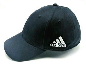 ADIDAS navy blue adjustable cap / hat - 100% cotton *NEW*