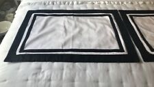 RESTORATION HARDWARE PILLOW SHAMS/PILLOW COVERS