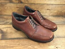 Dansko Brown Leather Tie Walking Casual Dress Shoes EU Size 45 Men's US 11-11.5