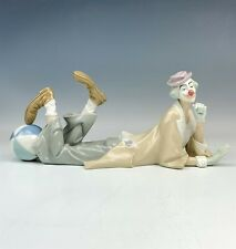 New ListingRetired Signed Lladro Spain Clown # 4618 Hand Painted Porcelain Figurine Nr Nld