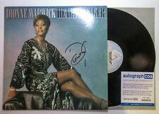 Dionne Warwick Signed Autographed 'HEARTBREAKER' Vinyl Album LP PROOF ACOA B