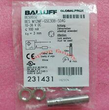 1PC NEW BALLUFF  BES M12MF-GSC30B-S04G Peoximity Switch  ZS