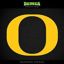 "Oregon Ducks - NCAA - Yellow Vinyl Sticker Decal 5"""